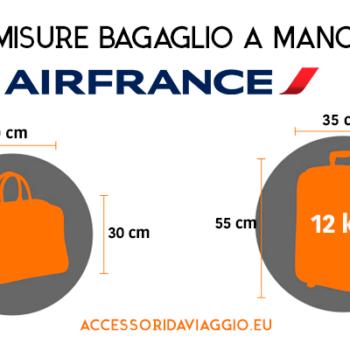 Misure bagaglio a mano airfrance