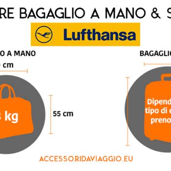 Misure bagaglio a mano Lufthansa