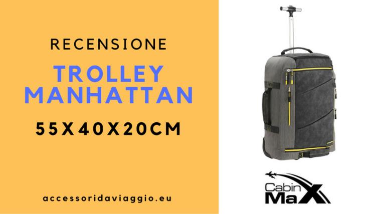 trolley Manhattan cabin max bagaglio a mano
